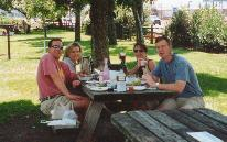 Picnic at V. Sattui Winery - KMB Photo