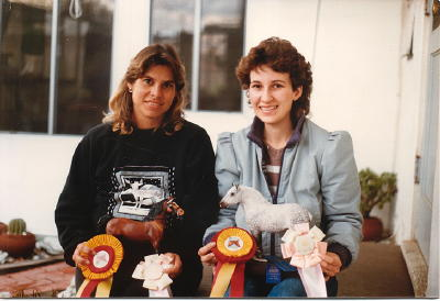 Laurie and Kay - CeCe's house - 1986