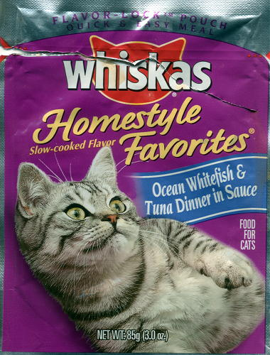 Whiskas New Psychokitty Recipe