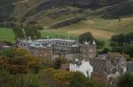 Holyrood Palace from Coltan Hill