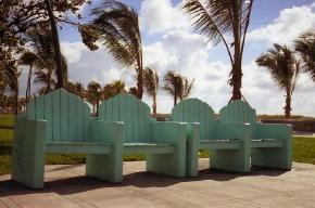 South Beach Benches