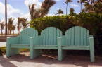 South Beach Benchs
