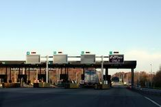 Toll Booth on the PA Turnpike